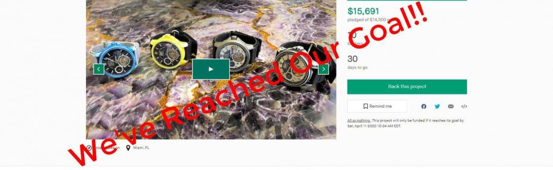 03.11.20 Strumenti Nautici Cerakote Titanium Automatic Tourbillon Watch Kickstarter Funded