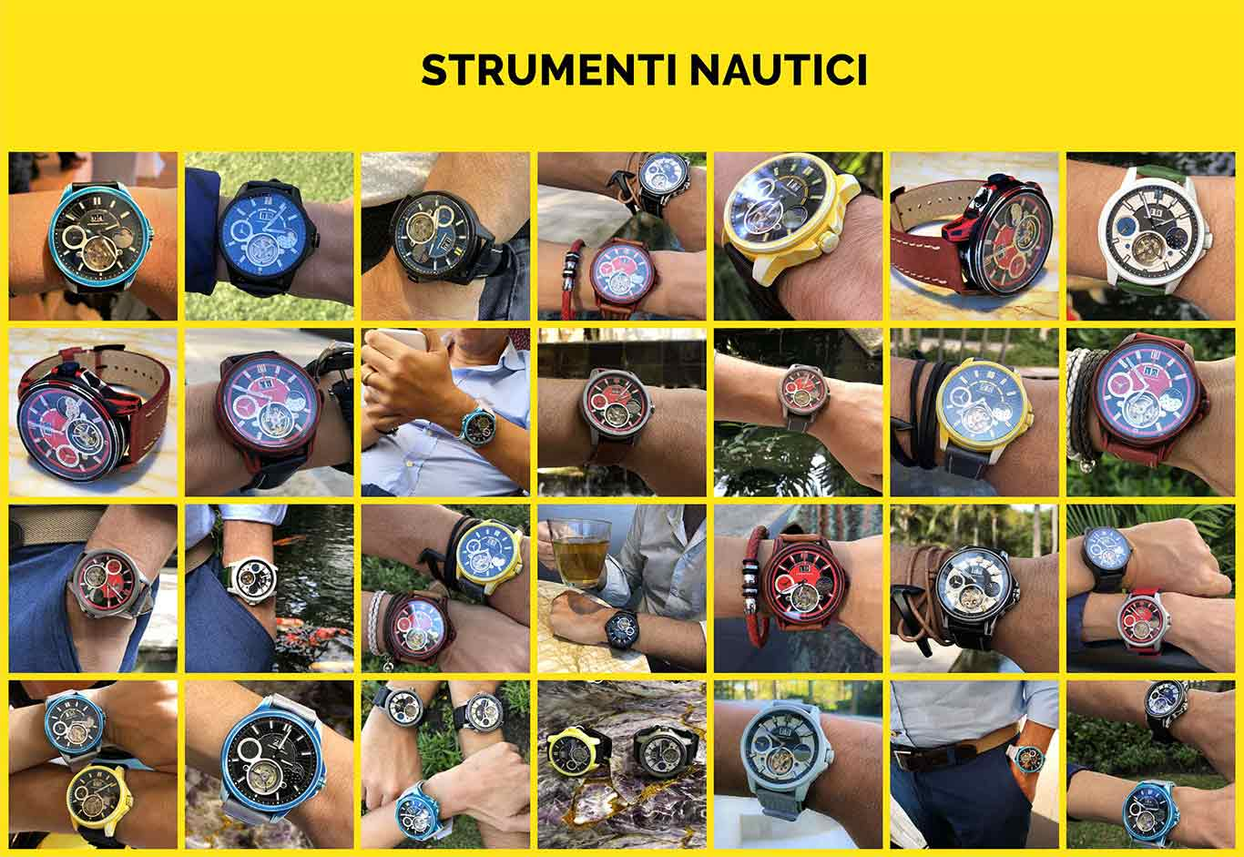 11 Strumenti Nautici Automatic Tourbillon Titanium Cerakote Watch