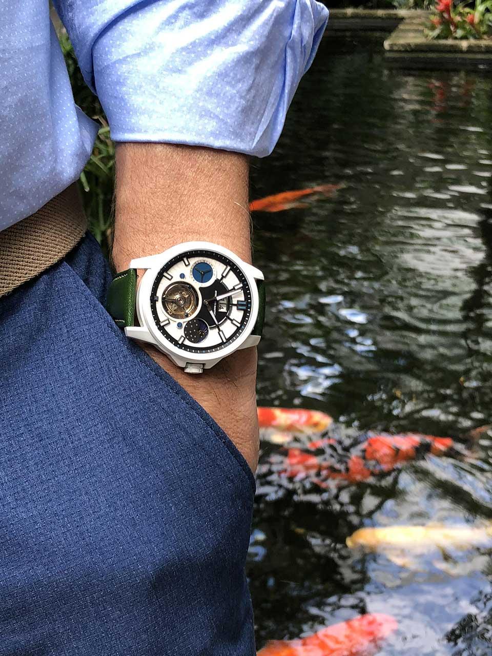 5 Strumenti Nautici Automatic Tourbillon Titanium Cerakote Watch