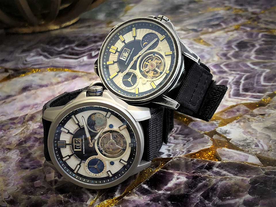 7 Strumenti Nautici Automatic Tourbillon Titanium Cerakote Watch